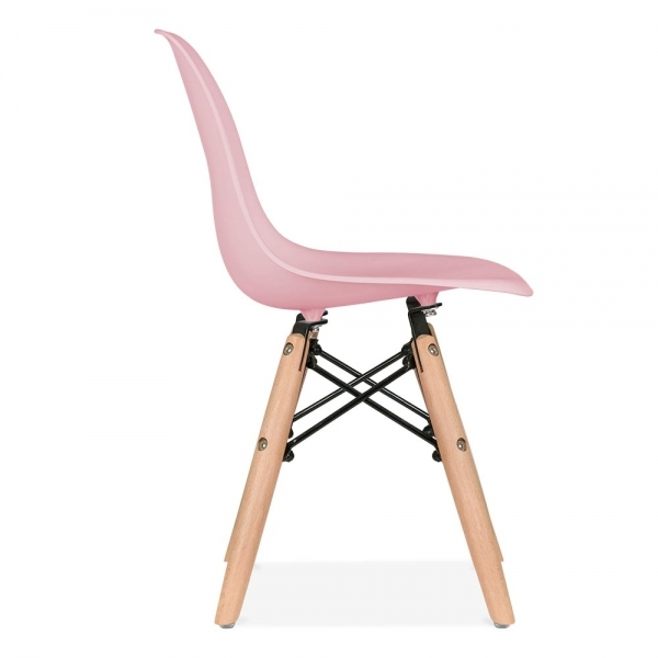Cult Living DSW Kids Pastel Pink Chair Dining Chairs Cult UK