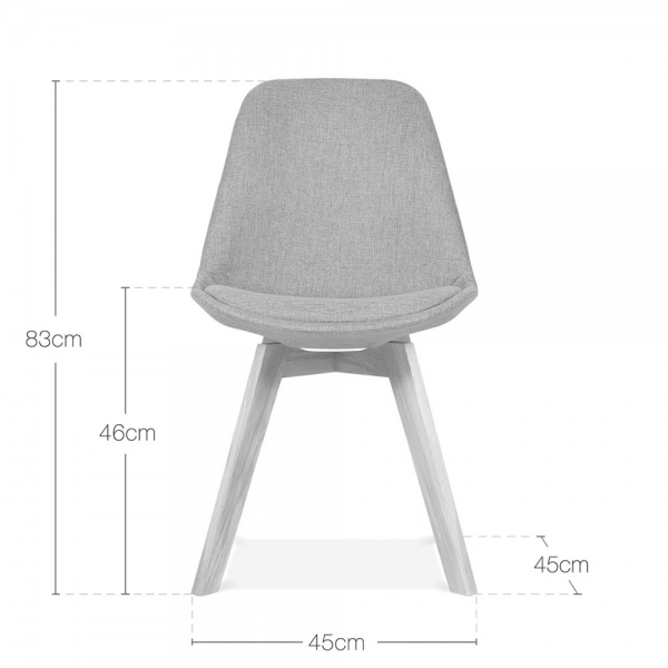 Eames Inspired Beige Upholstered Dining Chair With Cross  : 1455806031 65701000 from www.cultfurniture.com size 600 x 600 jpeg 91kB