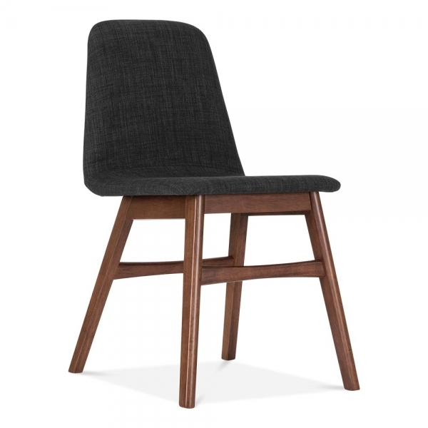 Dining Chair Clearance: Cult Living Amara Upholstered Dining Chair In Dark Grey