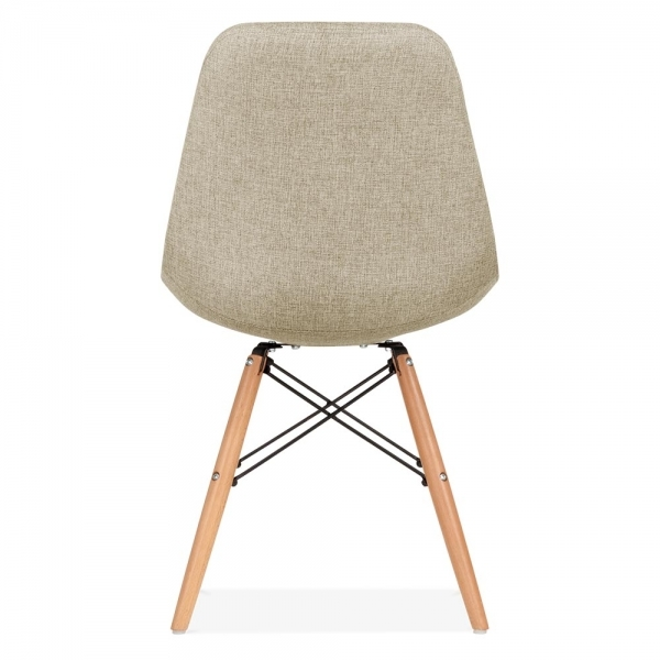 Eames Inspired Beige Upholstered Dining Chair With DSW  : 1457008593 86798600 from www.cultfurniture.com size 600 x 600 jpeg 117kB