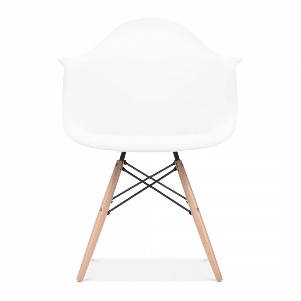 White Table Uk Part - 30: ... Iconic Designs DAW Dining Set - 1 Table U0026 2 Chairs - White 70cm ...