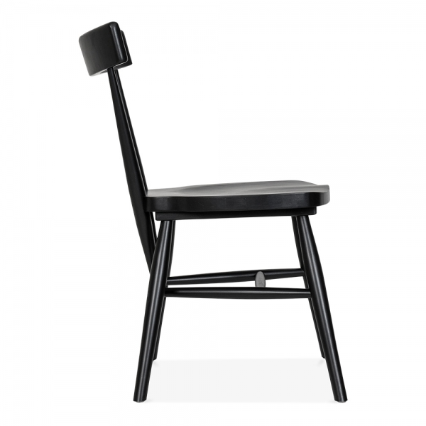 Dining Chairs Clearance: Cult Living Trafik Stackable Dining Chair In Black
