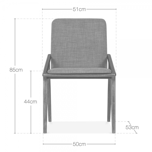 Cult Living Flight Upholstered Dining Chair   Dark Grey   Cult Living Flight Dining Chair in Dark Grey   Cult Furniture UK. Grey Upholstered Dining Chairs. Home Design Ideas