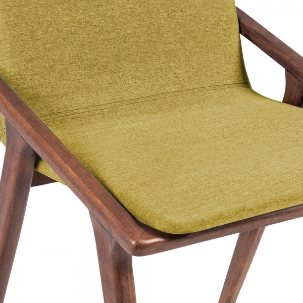 Cult Living Flight Upholstered Dining Chair In Olive Cult - Upholstered dining chairs uk