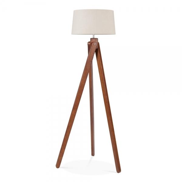 ... Cult Living Tripod Wooden Floor Lamp - Walnut ... - Cult Living Tripod Floor Lamp In Walnut Wood Cult Furniture UK