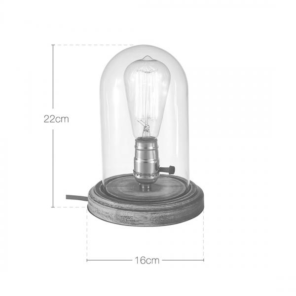 Cult Living Bell Jar Table Lamp | Lighting | Cult Furniture