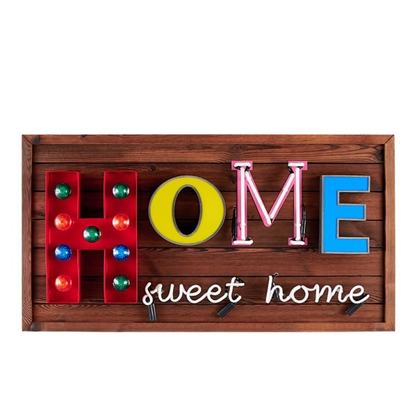 Cult Living Home Sweet Home LED Sign Lighting Cult Furniture UK