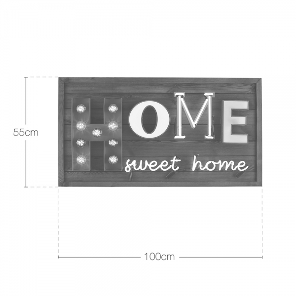 Cult Living Home Sweet Home Led Sign Lighting Cult Furniture Uk