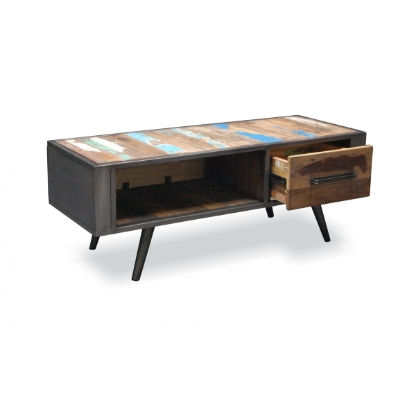 Titanic Nordik Reclaimed Wood Coffee Table  Cult UK