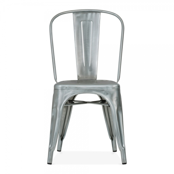 Xavier Pauchard Style Galvanised Industrial Raw Metal Chair   Cult UK. Marais A Chair. Home Design Ideas