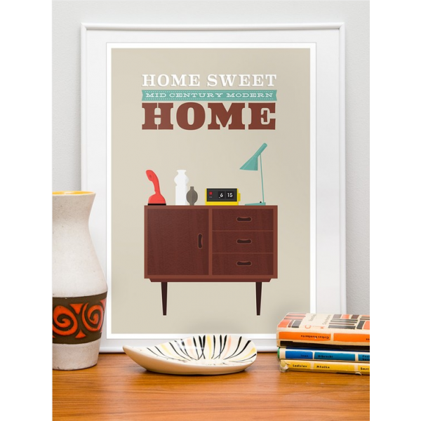 Home Sweet Home Print Quirky Prints Posters Cult Uk
