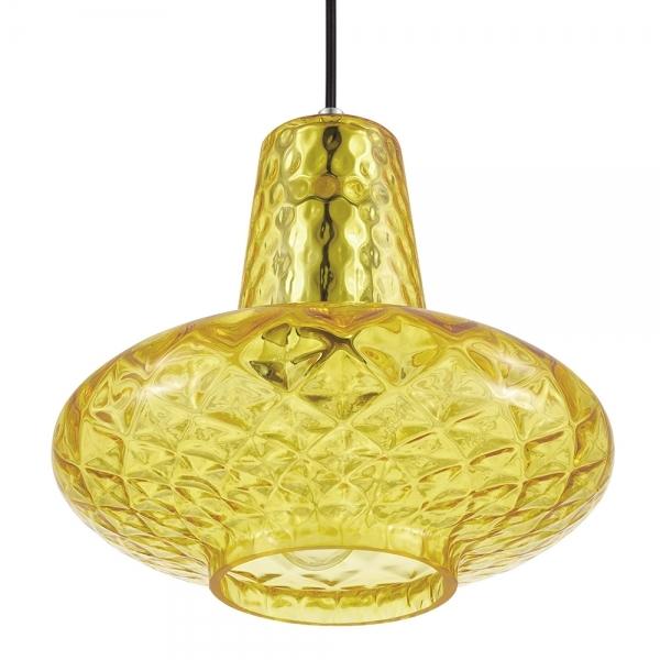 Yellow Glass Monroe Pendant Light