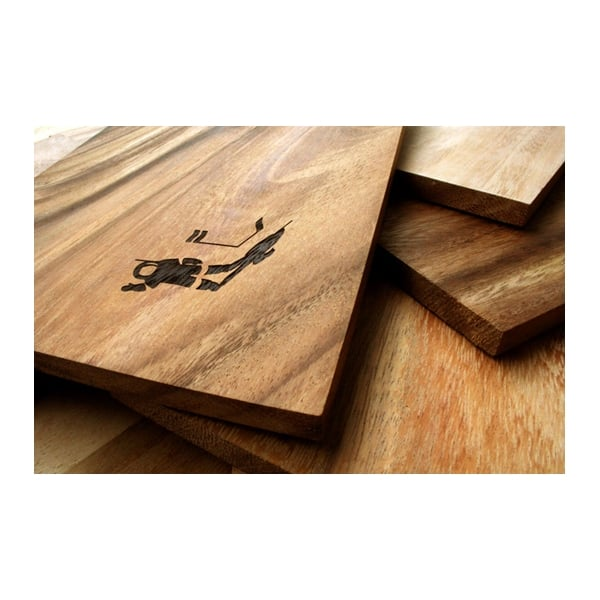 Solid Wood Chopping Board Surfer Cult Furniture Uk