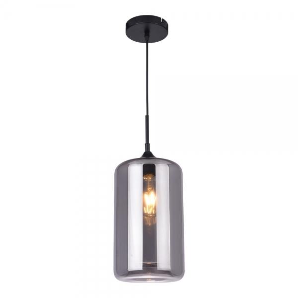 Black industrial pod glass pendant light bar restaurant lighting edison industrial pod modern glass pendant light black mozeypictures Images