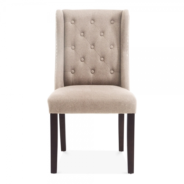 cream upholstered chair sloane wingback dining room chair cream wool upholstered 13626 | 1491486402 13114500