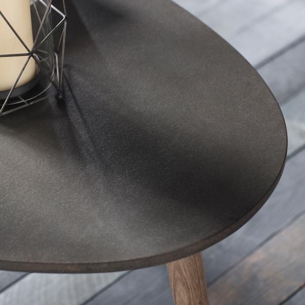 Bergen Oval Coffee Table: Brooklyn Oval Coffee Table Concrete