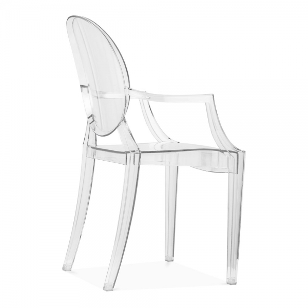 ... Ghost Louis Ghost Armchair   Clear ...