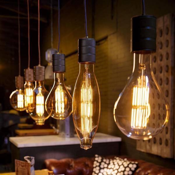 Extra Large Led E27 G200 Filament Light Bulb Cult