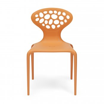 Ross Lovegrove Style Orange Supernatural Chair