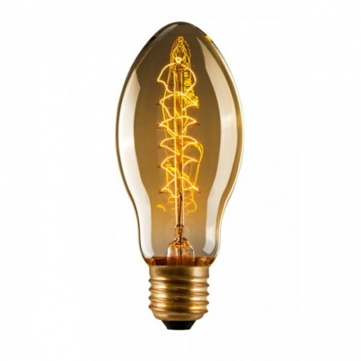Edison Tulip Spiral BT53 Filament Light Bulb - E27 40W
