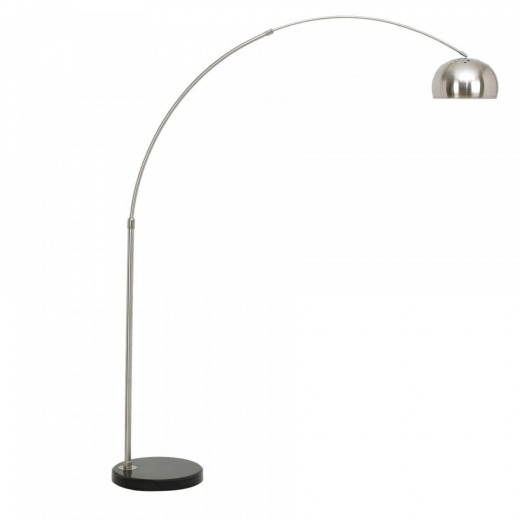 Arc Floor Lamp With Circular Marble Base Modern Lamps
