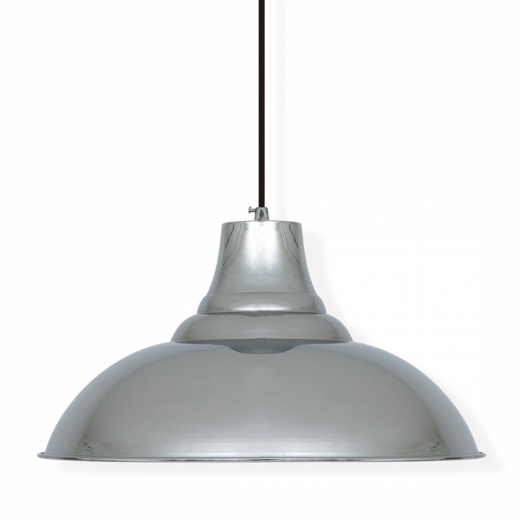 Cult Living Industrial Pendant Ceiling Light Chrome