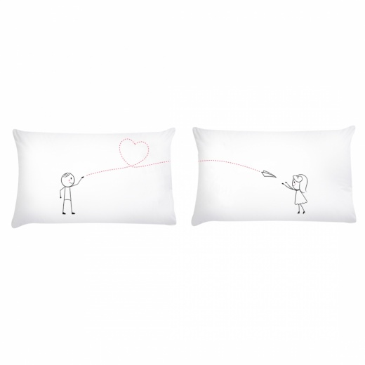 Love Story Pillow Gift Set - From Me to You