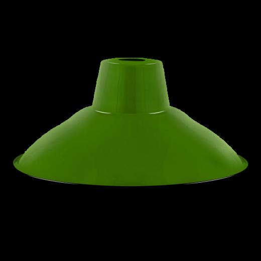 Enamel Dish Lampshade E27 In Green Ceiling Pendant Lamps