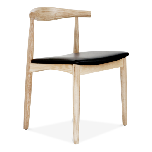 Danish Designs Elbow Chair in Natural Ash