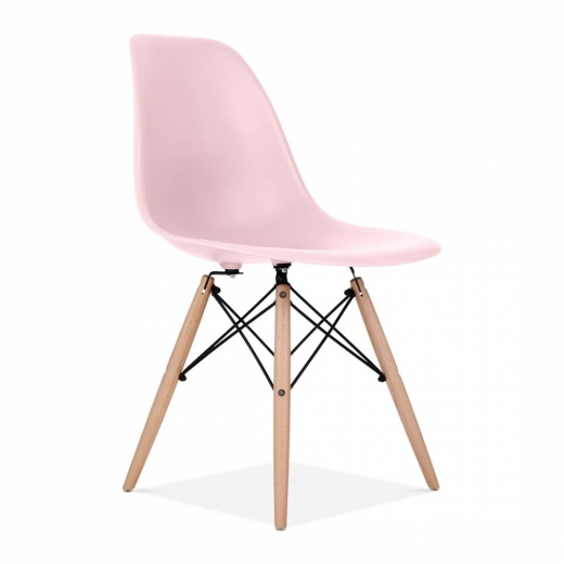 Iconic Designs Pastel Pink DSW Chair