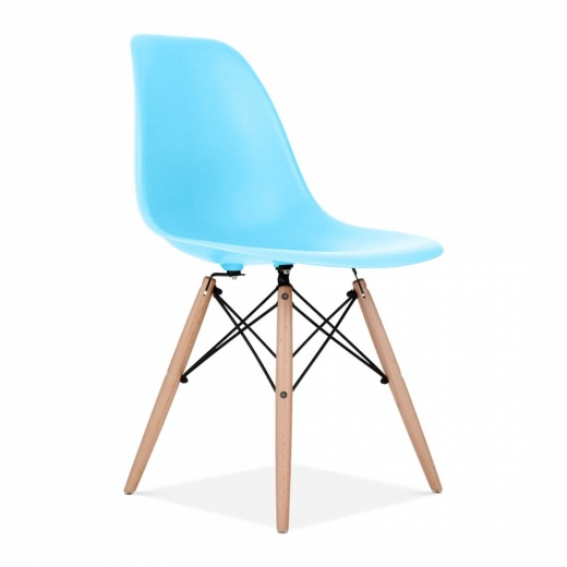 Iconic Designs DSW Chair - Bright Blue