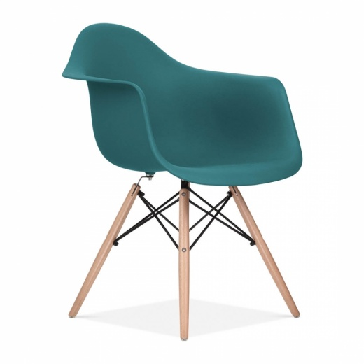 Iconic Designs Teal DAW Style Chair