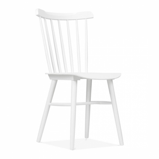 Cult Living Wooden Windsor Chair - White