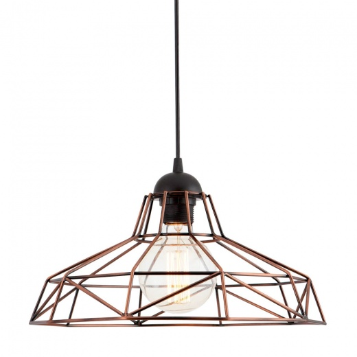 Edison Industrial Harlow Cage Light - Copper