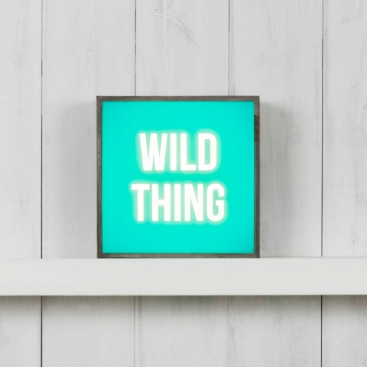 Cult Living (Insert Only) For Square Light Box - Wild Thing