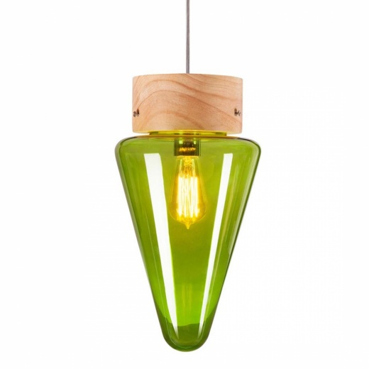 Cult Living Forest Mushroom Cone Hanging Pendant Lamp - Choice of Colour - Clearance Sale