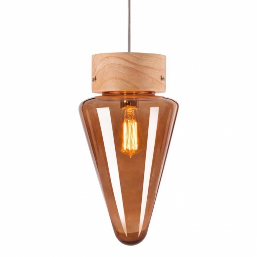 Cult Living Forest Mushroom Cone Hanging Pendant Lamp - Choice of Colour