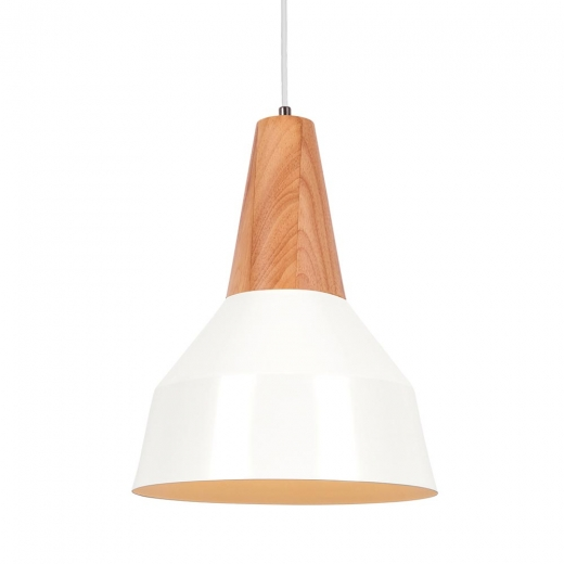 Cult Living Stockholm Cone Metal Pendant Light - White
