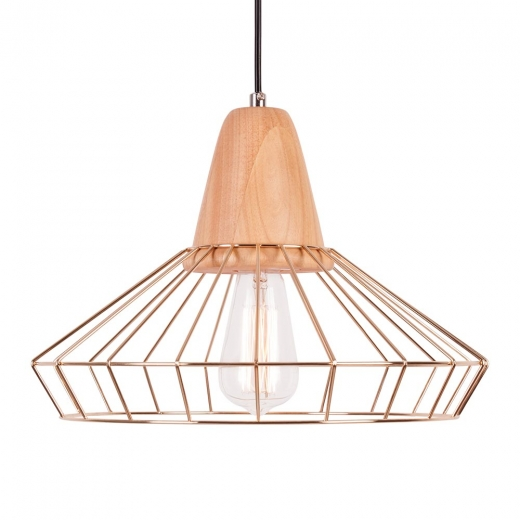Cult Living Scandi Cage Lamp - Gold