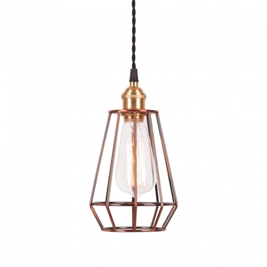 Cult Living Teardrop Cage Lamp - Copper