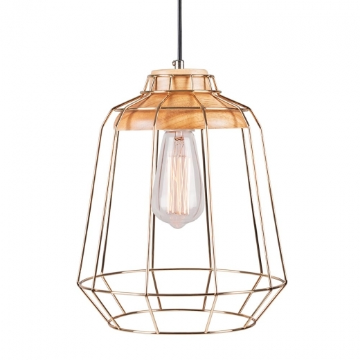 Cult Living Scandi Tall Cage Light - Gold