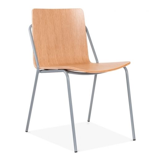 Cult Living Craft Chair With Plywood Seat - Cool Grey