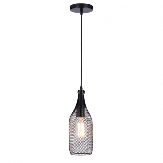 Cult Living Harmony Perforated Pendant Light - Large Bottle