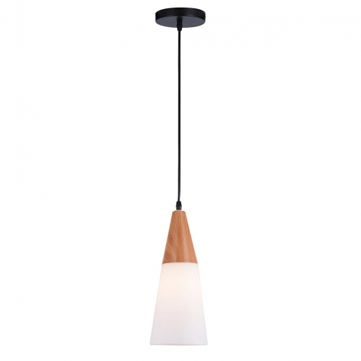 Cult Living Lans Frosted Glass Pendant Light - Small