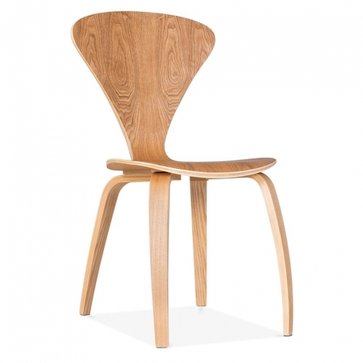 Cherner Chair With Veneer Finish - Natural