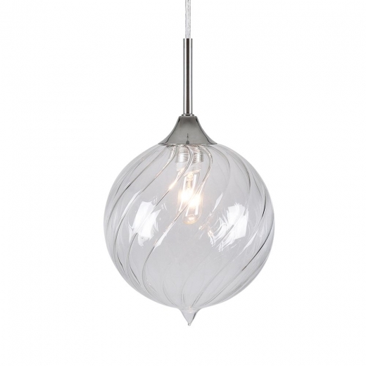 Cult Living Jewel Sphere Glass Light - Clear