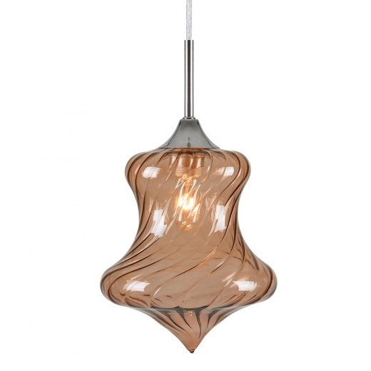 Cult Living Jewel Diamond Glass Light - Coffee