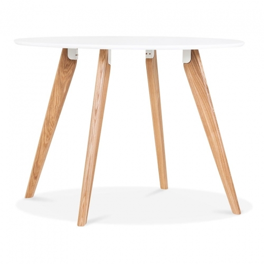 Cult Living Hemming Dining Table - White 100cm