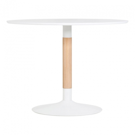 Cult Living Chic Dining Table - White 100.5cm