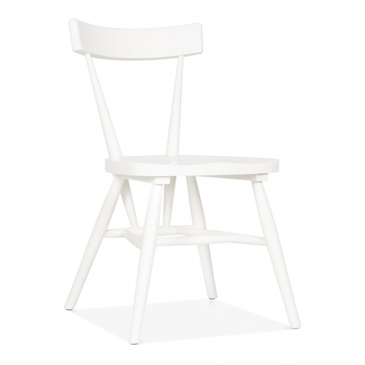 Cult Living Trafik Stackable Dining Chair - White